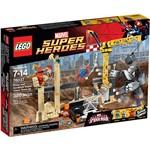 76037 - LEGO Super Heroes - Rhino e o Super Vilão Sandman Juntam Forças