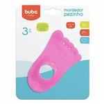 7229 Mordedor de Agua Pezinho Baby Buba Rosa