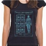 7M23 - Camiseta Select Your Face - Feminina - P