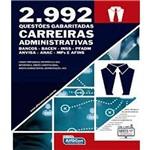 2992 Questoes Gabaritadas - Carreiras Administrativas