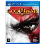 Jogo God Of War III Remasterizado PS4 - Sony