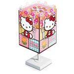 Abajur Quadrado Pequeno Hello Kitty - Startec