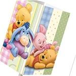 Abajur Quadrado Pooh Baby - Startec