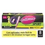 Absorvente Intimus com Aplicador Sport Medio 8un