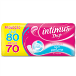 Absorvente Intimus Days Sem Perfume 80 Unidades