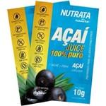 Açaí Juice 20 Sachês X 10g Nutrata