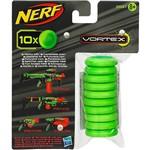 Acessório Nerf Vortex - Refil com 10 Unidades - Hasbro
