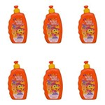 Acqua Kids Cacheados Creme P/ Pentear 250ml (kit C/06)