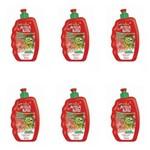 Acqua Kids Lisos e Finos Creme P/ Pentear 250ml (kit C/06)