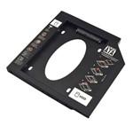 Adaptador CD/DVD de Notebook para HD/SSD 9,5 Mm Multilaser - GA172