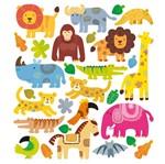 Adesivo Artesanal I Animais da Selva com Glitter Ad1780 - Toke e Crie