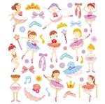 Adesivo Artesanal I Meninas Bailarinas Ad1778 - Toke e Crie