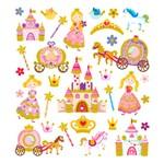 Adesivo Artesanal I Princesa Encantada com Glitter Ad1781 - Toke e Crie