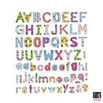 Adesivo Artesanal I Toke e Crie 143 X 171 Mm Alfabeto Estampado - 6838 - Ad615