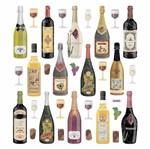 Adesivo Artesanal I Toke e Crie Ad1857 Vinhos