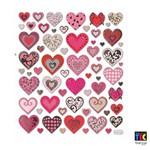 Adesivo Artesanal I Toke e Crie Corações Personalizados - 10323 - Ad1068