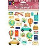 Adesivo Artesanal Toke e Crie 143x171mm Ad1774 - Turismo 17817