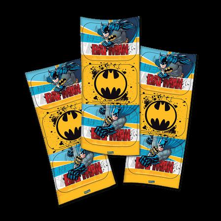 Adesivo Batman Retangular - 12 Unidades