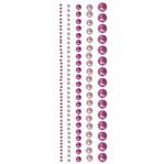 Adesivo Borda Perola Rosa Ad1335 Toke e Crie