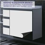 Adesivo Brilhante Branco Bloqueador 0,50 X 5,00m