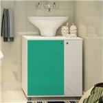 Adesivo Brilhante Verde Turquesa 0,50 X 5,00m
