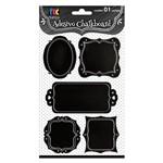 Adesivo Chalkboard Molduras Ad1609 - Toke e Crie