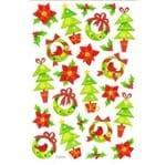 Adesivo com Glitter Toke e Crie Árvores de Natal