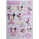 Adesivo 3d Disney Toke e Crie Add04 Baby Minnie
