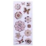 Adesivo 3d Floral Ad1813 - Toke e Crie