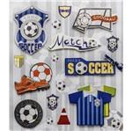 Adesivo 3d Futebol Ad1585 - Toke e Crie