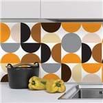 Adesivo de Azulejo 20x20 para Cozinha Círculos 24un