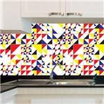 Adesivo de Azulejo - Color - X020Azme
