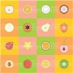 Adesivo de Azulejo Frutas