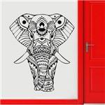 Adesivo de Parede Animais Elefante Indiano