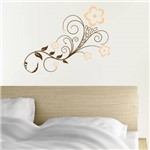 Adesivo de Parede - Arabesco Floral Bouquet - N6016
