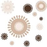 Adesivo de Parede Arabesco Grudado Colorido (45x115cm)