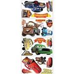 Adesivo de Parede Carros Piston Cup Champs Peel & Stick Wall Decal Roommates Colorido (25,4x45,7cm)