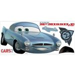 Adesivo de Parede Cars 2 Finn McMissle Peel & Stick Giant Wall Decal Roommates Colorido (46x12,8x2,8cm)