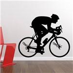 Adesivo de Parede - Ciclista - N9010