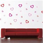 Adesivo de Parede - Corações, Coração - N9005