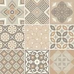 Adesivo de Parede Decorativo para Cozinha Stixx Azulejos Atenas Colorido (123x61cm)