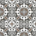 Adesivo de Parede Decorativo para Cozinha Stixx Azulejos Veneza Colorido (123x61cm)