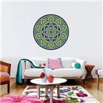 Adesivo de Parede Decorativo Stixx Mandala Gypsy Colorido (60x60cm)