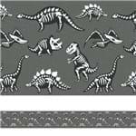 Adesivo de Parede Faixa Decorativa Infantil Fósseis 10m X 10cm