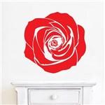 Adesivo de Parede Flor Rosa