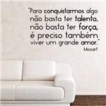 Adesivo de Parede Frase - Viver um Grande Amor - N6004