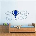 Adesivo de Parede Infantil Balões e Nuvens Mod. 2