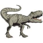 Adesivo de Parede Infantil Dinossauro Jurassic 70x55cm
