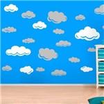 Adesivo de Parede Infantil Nuvens