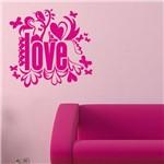 Adesivo de Parede - Love, Amor - N1001